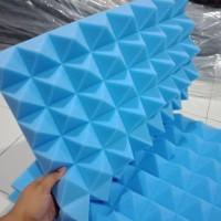busa peredam suara pyramid warna