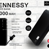 Powerbank Excellence Hennessy 12000mah - ATCPB120HENE