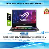 "LAPTOP ASUS ROG GL504GV RTX2060 i7-8750H 8GB 512GB W10 15,6""FHD HERO 2"