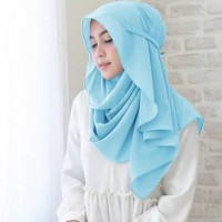 Jilbab instan Kiara Bergo Pashmina Instan Oshi Khimar Hijab Instan