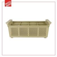 Cutlery Basket 8 Comp Almond Kd 3043