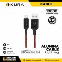 KURA Alumina Cable - Kabel Data Lightning 3A