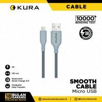 KURA Smooth Cable - Kabel Data Micro USB 3A