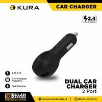 KURA Dual Car Charger 2.4 A