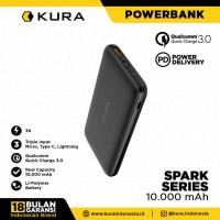 KURA Powerbank Spark Series 10000 mAh Quick Charge 3.0