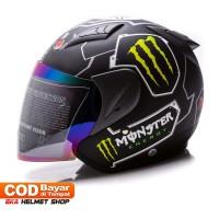 Helm Dewasa MSR Helmet Javelin Monster Hitam Doff