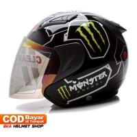 Helm Dewasa MSR Helmet Javelin Monster Hitam