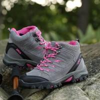 Sepatu Gunung Hiking Fashion Wanita Merek SNTA 605 Series 4 Warna