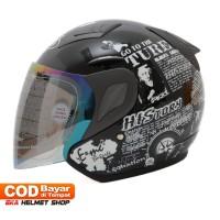 Helm Dewasa MSR Helmet Javelin History Hitam