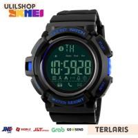 SKMEI Jam Tangan Olahraga Smartwatch Bluetooth - DG1245 BL - Black Blu