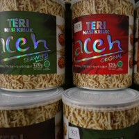 Teri Nasi Kriuk Aceh Kemasan Kaleng