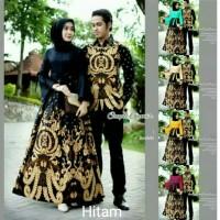 Batik Couple Panjang / Sarimbit Gamis Gayatri 2499 Katun Baloteli