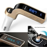 FM TRANSMITTER CAR G7 MODULATOR BLUETOOTH CHARGER MOBIL AUX MP3 USB ON