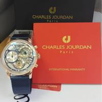 CHARLES JOURDAN CJ1100-1512C JAM TANGAN ORIGINAL GARANSI RESMI