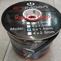 Kabel speaker isi 8 ukuran 8 X 1.5mm panjang 100m