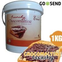 HOT SALE (GROSIR GoSend) Elmer Chocomaltine Crunchy 1 Kg (Kemasan