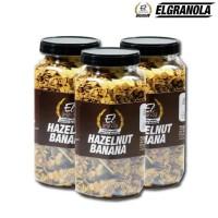 HOT SALE El Granola Hazelnut Banana / Healthy Snack / Sereal Terjamin