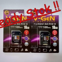 Promo Murah Micro Sd / Microsd V-Gen 16 Gb / Vgen 16Gb Class 10 Best