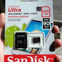 Berkualitas Sandisk Microsd 200Gb Berkualitas
