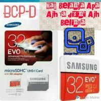 Promo Murah Samsung Msdch 32Gb Evo Micro Sdhc Plus Sd Adapter Promo