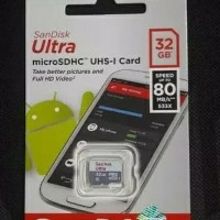 Termurah Memory Microsd Sandisk Ultra 32 Gb Class 10 (48 Mbps) Non