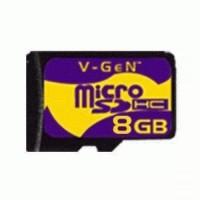 Berkualitas Memory Micro Sd 8 Gb Vgen Non Adaptor Promo Murah