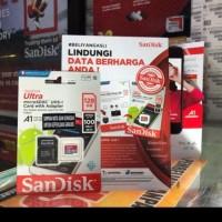 Berkualitas Microsd Sandisk A1-128Gb(Cl10 Uhs-Speed 100 Mb/S) Termurah