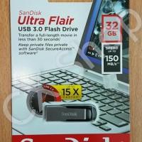 Best Seller Sandisk Ultra Flair Usb 3.0 150Mb/S Flashdisk Cz73 32Gb
