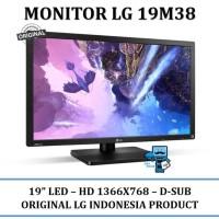 Berkualitas Monitor Led Lg 19M38 19 Inch Termurah