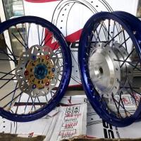 Sepaket Velg jari jari ring 14 Scoopy Beat Vario 110 Spacy Vario 125-