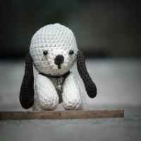 Boneka Rajut Puppy Handmade