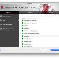 Autodesk AutoCAD For Mac 2018 Original