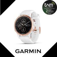 Garmin Fenix 5s Plus Music Rosegold Garansi TAM 2 Tahun