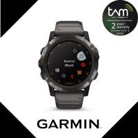 Garmin Fenix 5X Plus Music Sapphire DLC Carbon with Titanium Band