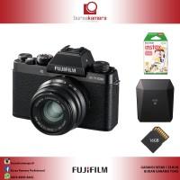 Harga fujifilm x t100 with 35mm f2 xt100 garansi resmi pt | Pembandingharga.com