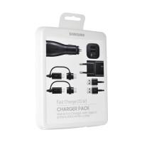 Samsung EP-U3100 Data Cable with Type-C & Micro USB - Hitam [Origina