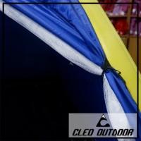 Tenda Outdoor Single Layer 3-4 Orang