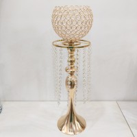 Candle Holder CR087/Centerpieces/Stand Flowers/Stand Lilin Gold