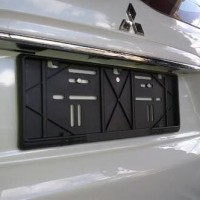Tatakan Dudukan Plat Nomor Mobil Astra 46 cm Baru Frame Bracket cars A