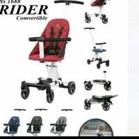Stroller babyelle Convertible Rider / Kereta dorong bayi