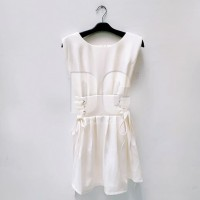 JCNY-073 || Bangkok Import Midi Dress Model Tali Disamping Size S