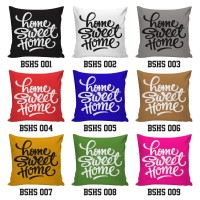 Sarung Bantal / Cushion Cover - Home Sweet Home