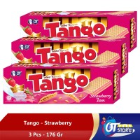 WAFER TANGO STRAWBERRY 176GR [ISI 3PCS]
