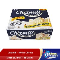 CHIZMILL WHITE CHEDDAR 38GR - 1 BOX ISI 12PCS