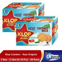 KLOP COCONUT 39GR [1 BOX ISI 10PCS] - 2 BOX