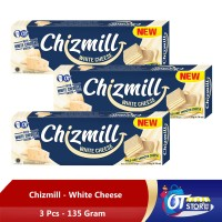 CHIZMILL WHITE CHEDDAR CHEESE 135GR [ISI 3PCS]