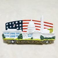 Magnet Kulkas Washington D.C. resin