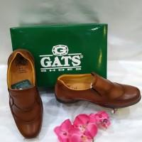 Sepatu Pria Pantofel Gats GP 0001 Tan