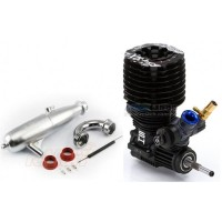 Combo SH 21 Engine XB 8 Plus Pro Exhaust Complete 1/8 EFRA no. 2075