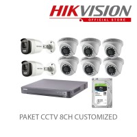 PAKET CCTV 16CH Customized 2Colorvu Out 6IN-IPF